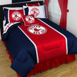 Baseball Bedding MLB Team Bed Sheets Comforter Pillow Cases
