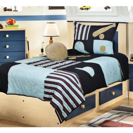 baseball bedding mlb team bed sheets comforter pillow cases line up forms. Black Bedroom Furniture Sets. Home Design Ideas