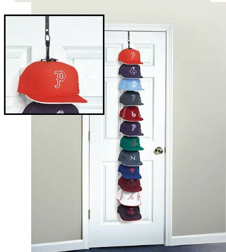baseball cap rack over the door storage racks hat