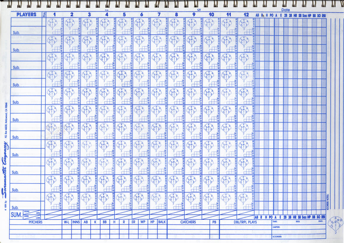 Baseball score sheet scorecard scorekeeping information photo baseball scoresheet2 pronofoot35fo Choice Image