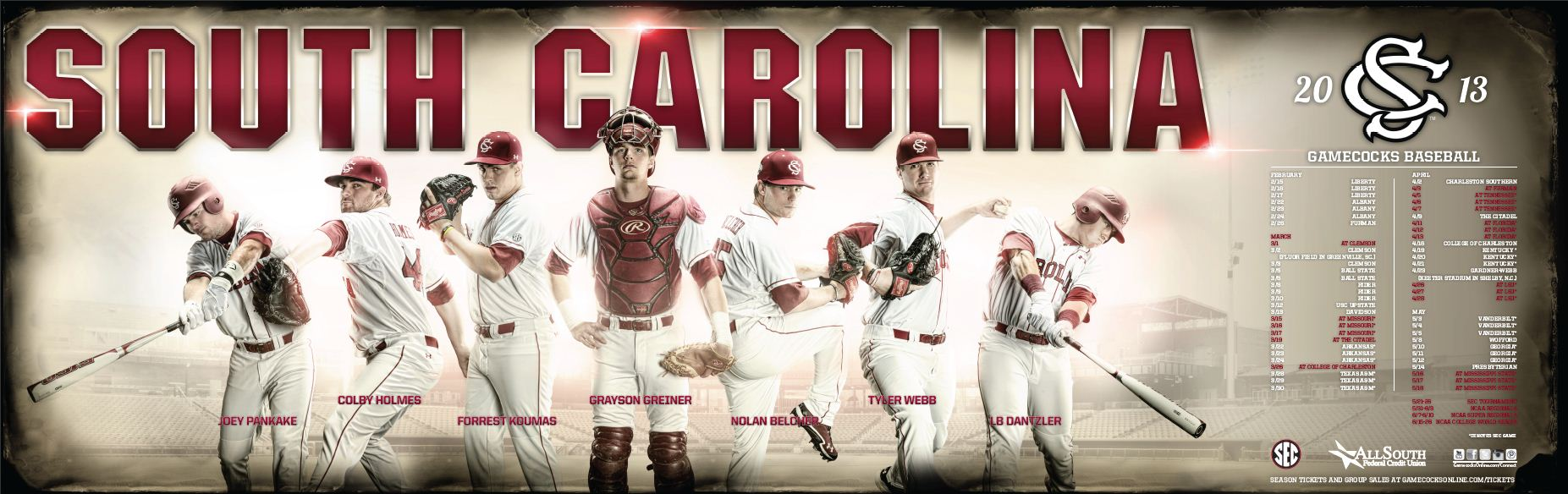 gamecock baseball – south carolina team – the usc athletic page