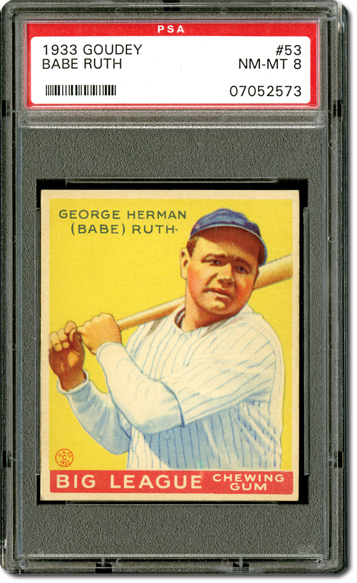 Image result for valuable babe ruth baseball cards
