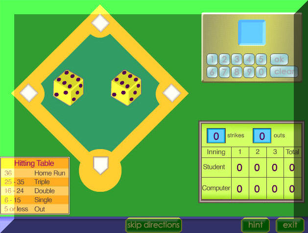 multiplication baseball