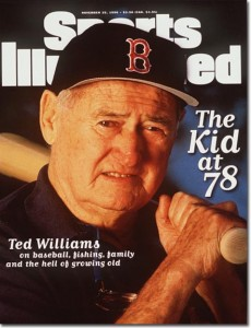Ted Williams November 25, 1996 x51757 Credit: Bill Frakes- contract