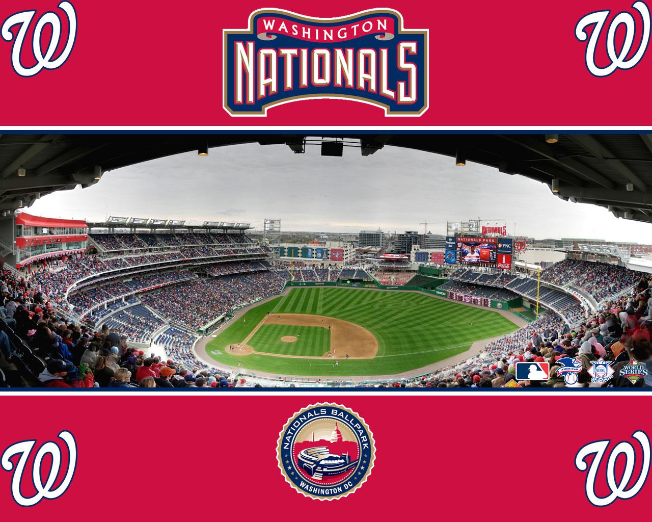 MLB Washington Nationals Baseball with Team Logo by Rawlings ...