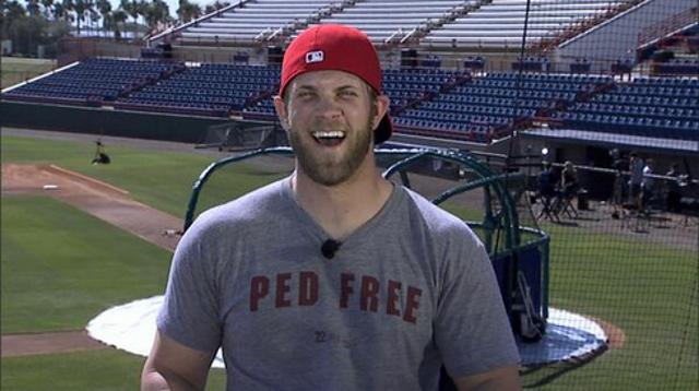 Bryce Harper PED Free