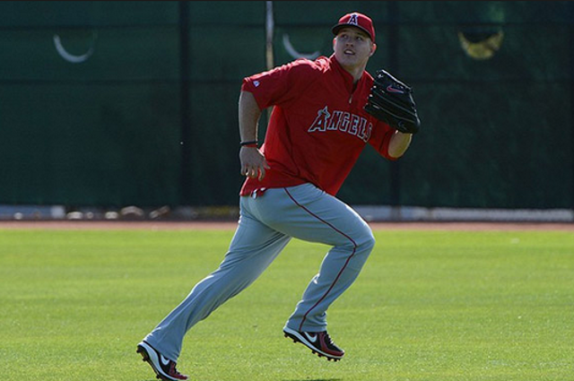 Chubby Mike Trout