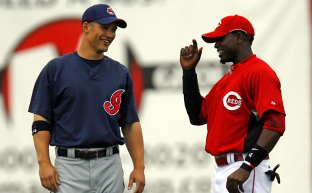 Grady Sizemore Brandon Phillips
