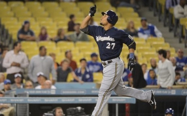 Carlos Gomez home run trot