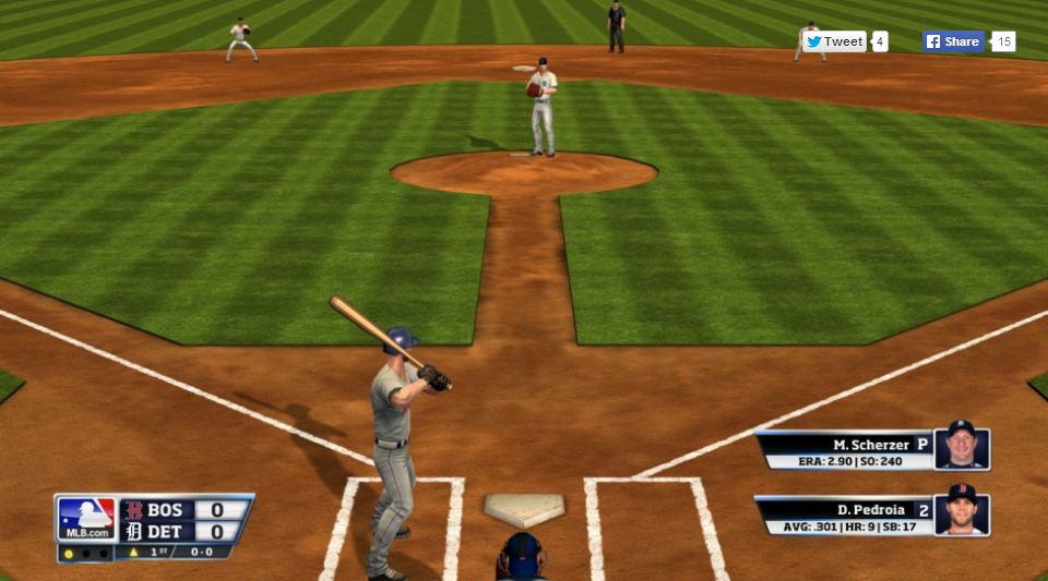 RBI Baseball 14 screenshot