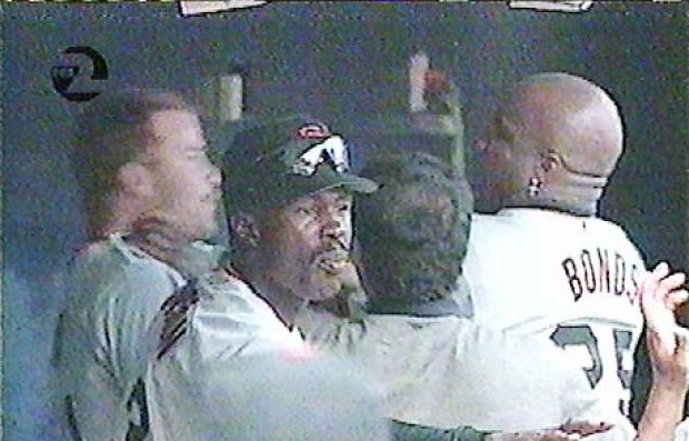 Jeff Kent Barry Bonds fight