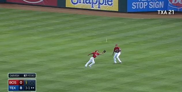 Ortiz Darvish no hitter