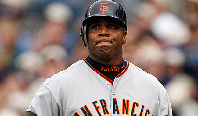 Barry Bonds big head