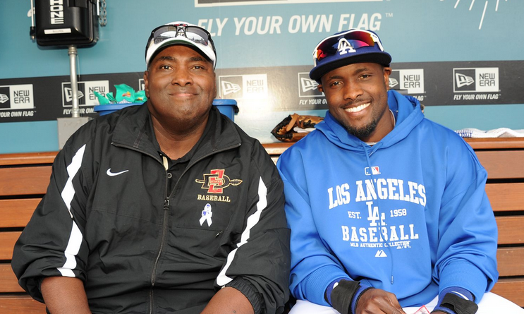 Tony Gywnn and Tony Gwynn Jr.