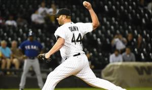 Adam Dunn pitching