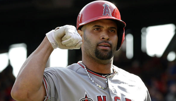 Albert Pujols japan
