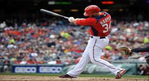 Bryce Harper Puig bat