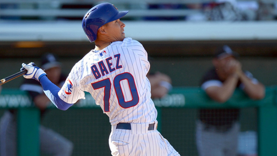 Javier Baez called up