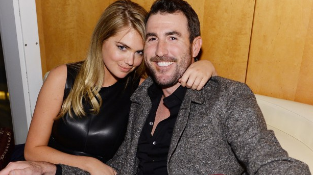 Kate Upton Justin Verlander Superbowl party