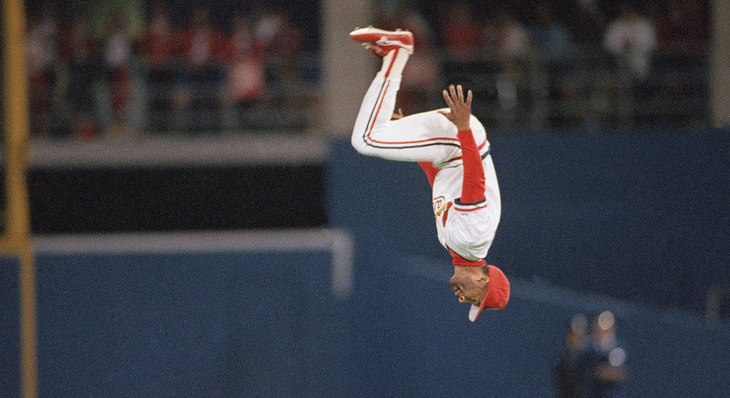 Ozzie Smith backflip