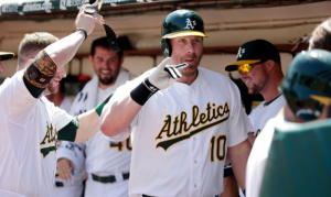 Adam Dunn Oakland home run