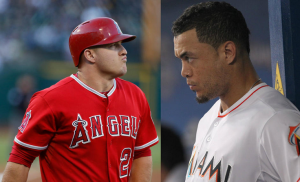 Giancarlo Stanton, Mike Trout